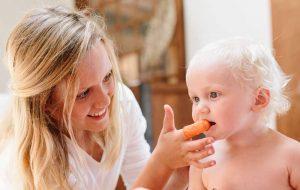 barn får tenner, puss tenner med the brushies